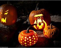 тыква на Хэллоуин фото (41)