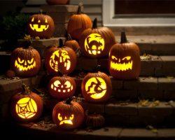 тыква на Хэллоуин фото (42)