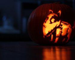 тыква на Хэллоуин фото (44)