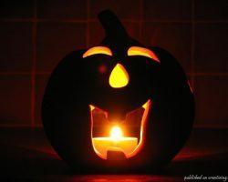 тыква на Хэллоуин фото (49)