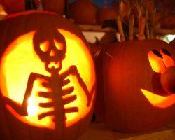 тыква на Хэллоуин фото (52)