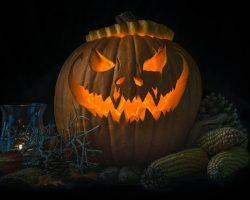 тыква на Хэллоуин фото (56)