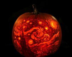 тыква на Хэллоуин фото (6)