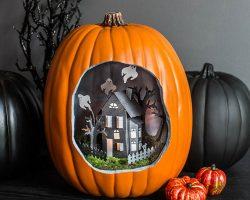 тыква на Хэллоуин фото (60)