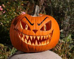 тыква на Хэллоуин фото (63)