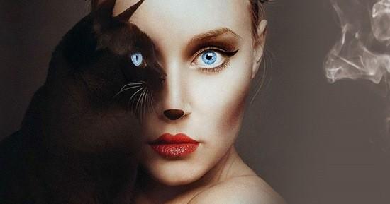 наполовину женщина наполовину кошка история из жизни