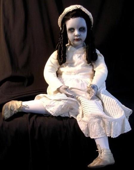 очень страшная кукла фото