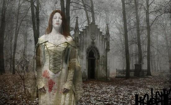 призрак девушки фото