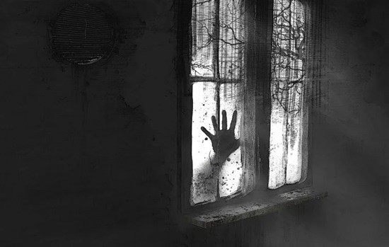 страшилка Стук в окно картинка