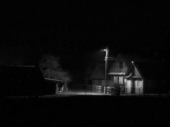 страшная деревня картинка
