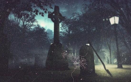 страшилки кладбище