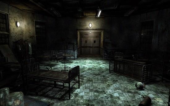 страшная больница