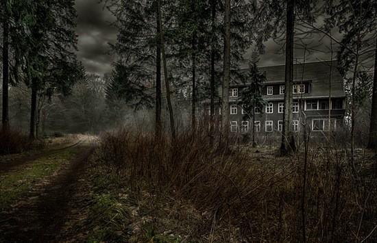 страшный дом в деревне