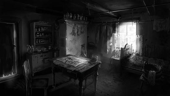 темная комната страшилка картинка