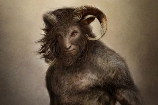 Человек-козёл легенда