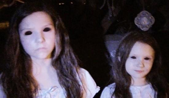 две девочки страшное фото