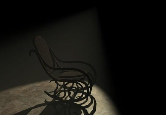 кресло качалка страшилка