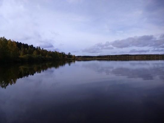 озеро пейзаж