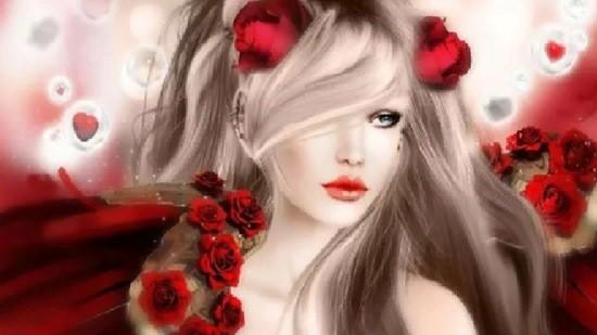 девушка красивая