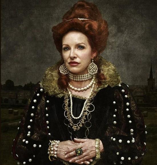 Елизавета Батори портрет