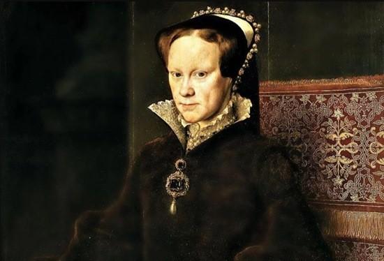 Королева Англии Мария I портрет