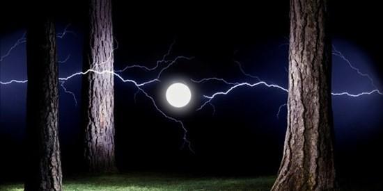 Шаровая молния картинка
