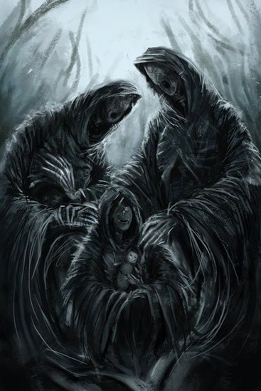 смерть жуткая картинка