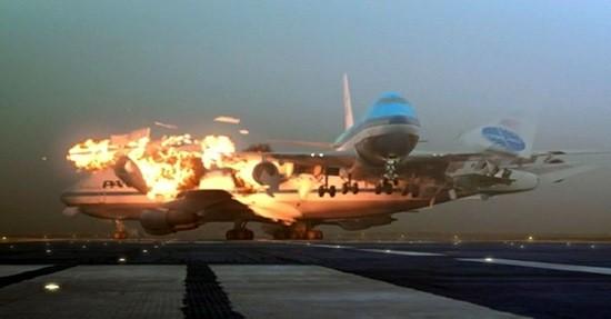 """Столкновение двух """"Боингов"""" 747"""