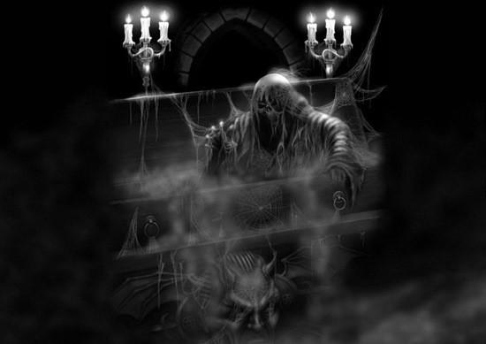 страшный погреб