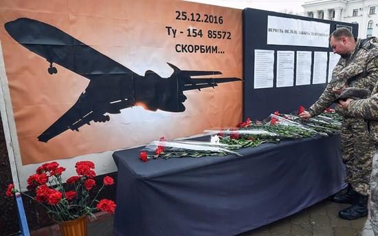 ту-154 крушение над черным морем