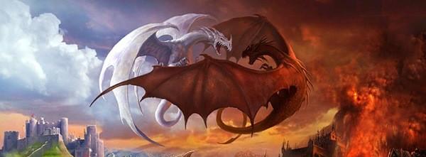 бой драконов