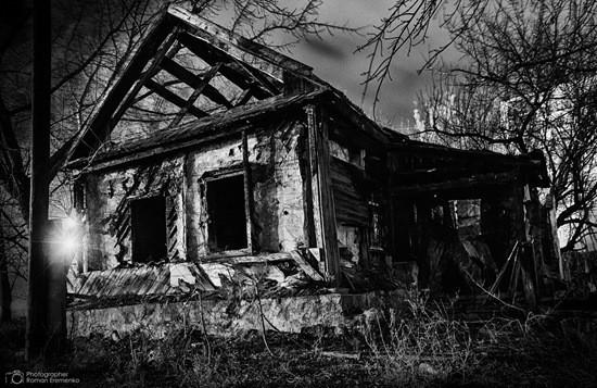 старый страшный дом