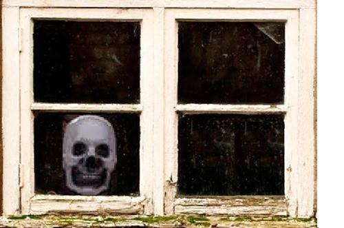 ужас в окне