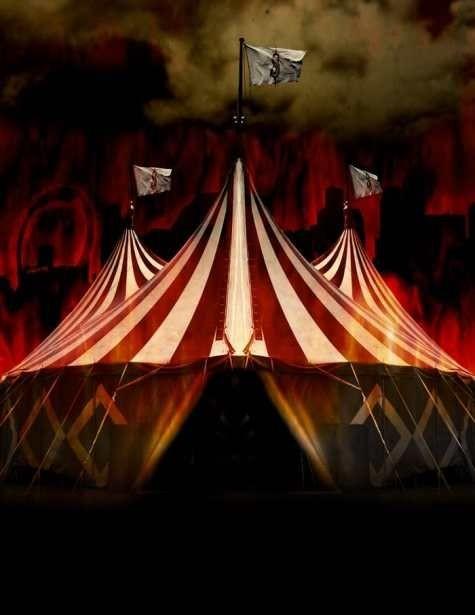 страшный цирк