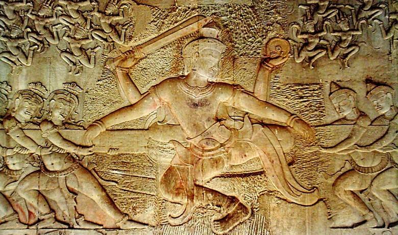 Асуры — в индуизме божества низкого ранга, иногда называются демонами, титанами, полубогами, антибогами, гигантами