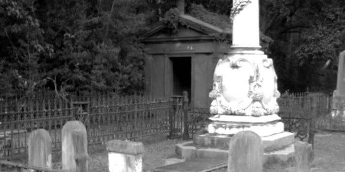 Джулия Легар кладбище фото