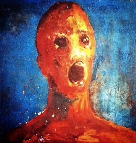 Человек в душевной муке картина