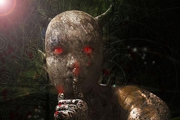 Говорящий демон