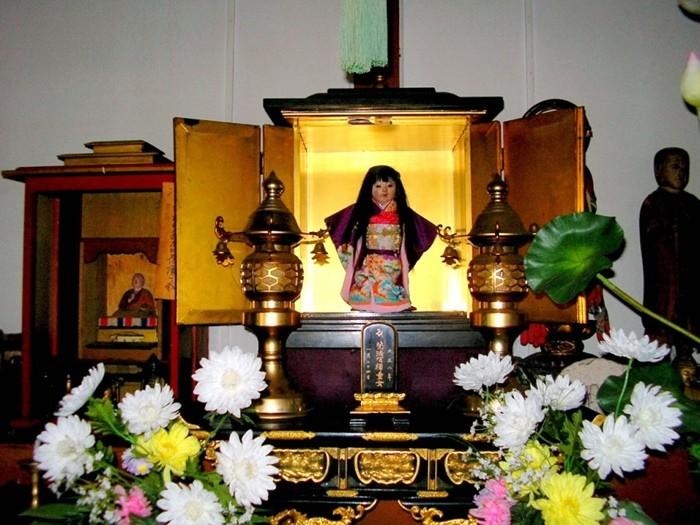 кукла Окику фото