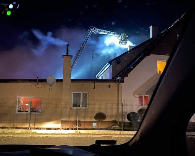 Ангел над горящим домом
